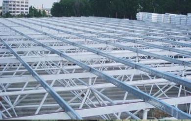 屋面网架结构